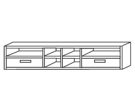 Надстройка письменного стола Сиело 77328