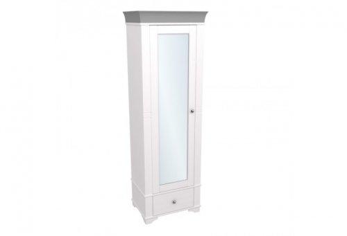 """Шкаф 1-дверный с зеркалом """"Бейли"""" 87415/88415/82415"""