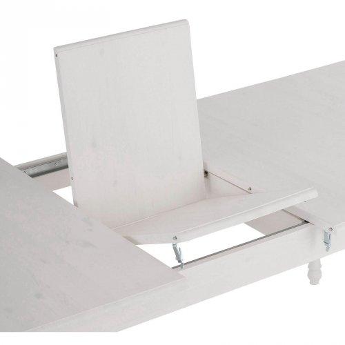 Стол Мерида 200 со вставкой белый воск УКВ