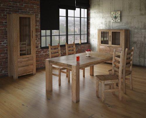 Стол обеденный Riva 220 (2200х1000х750) (тик)