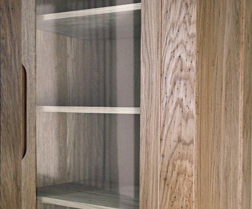 Витрина Riva (1 дверь) (710х400х1910) (тик)